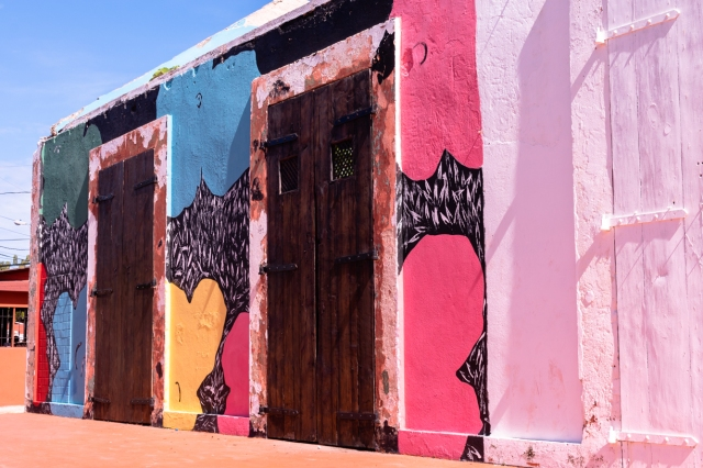Wall art in Sosúa